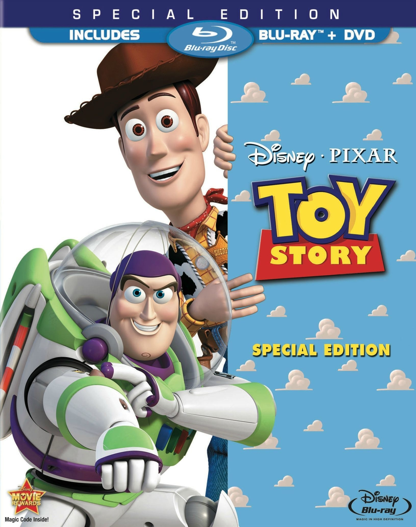 Blu-ray  sc 1 st  Disney Wiki - Fandom & Toy Story (video) | Disney Wiki | FANDOM powered by Wikia Aboutintivar.Com