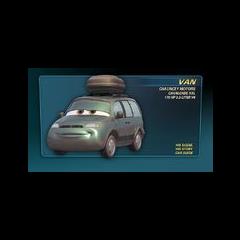 Karta Van w Cars Finder.