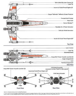 X-Wing Schematics