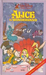 Alice in Wonderland Australia VHS