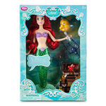 Ariel Deluxe Singing Doll with Sebastian and Flounder Figures Boxed