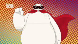 Baymax and Fred