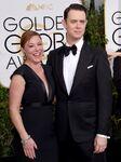 Colin Hanks & wife Sam Bryant 72nd Golden Globes