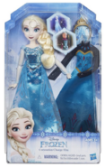 Hasbro Frozen Coronation Change Elsa Doll