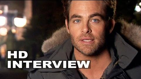 """Into the Woods Chris Pine """"Cinderella´s Prince"""" Behind the Scenes Movie Interview"""