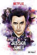 Jessica Jones Purple Man Poster