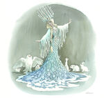 Marc Davis Snow Queen