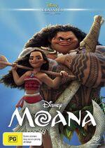 Moana DVD Classics AU