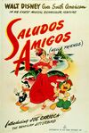 Saludos Amigos Original Poster