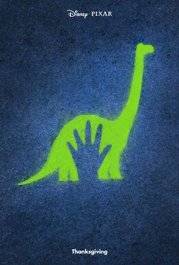 The Good Dinosaur Offical Poster