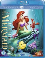 The Little Mermaid 2013 UK Blu-ray