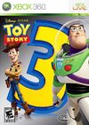Toy Story 3 XBox 360 Cover