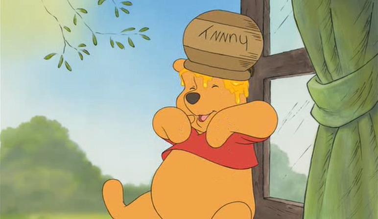 1df5af292 Pooh And His Honey Pot DISNEY t