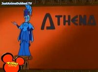 Athena Title Card from Herc and the Secret Weapon