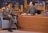 Aziz Ansari visits Jimmy Fallon