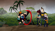 Bash Johnson 11th Grade Ninja - Howard, Ninja, Morgan, Bash and Bucky