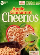Cheerios muppets most wanted kermit