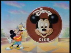 Disney Club UK titlecard