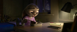 Judy sees at a small carrot