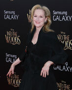 Meryl Streep Into the Woods premiere