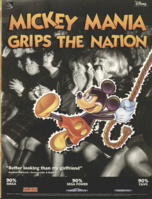 Mickey Mania - European Magazine Ad