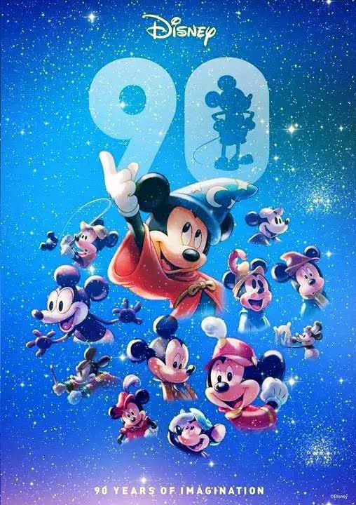 Image Mickey Mouse 90th Posterjpeg