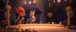 Nick & Judy di pernikahan Fru Fru