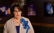 Phyllis Smith behind the scenes Inside Out