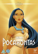 Pocahontas UK DVD 2014 Limited Edition slip cover