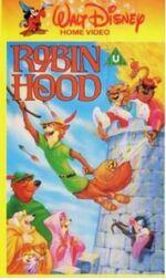 Robin Hood Mid 1980s UK VHS