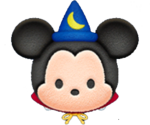Sorcerer Mickey Tsum Tsum Game