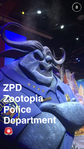 Zootopian Police Department at D23