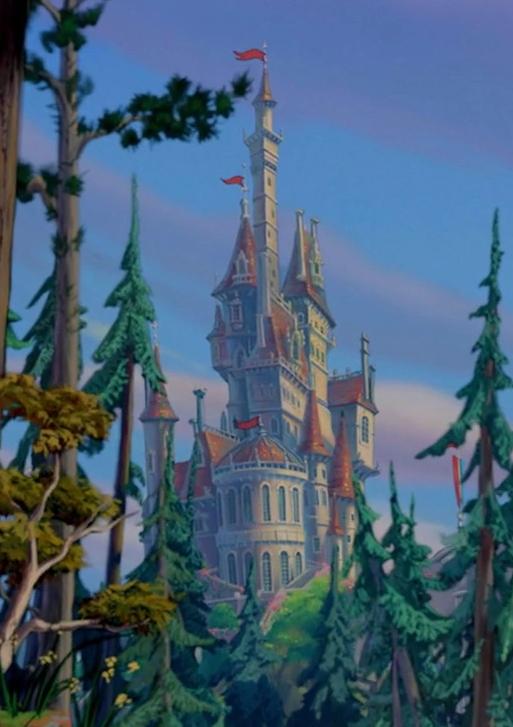 Beast S Castle Disney Wiki Fandom Powered By Wikia