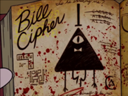 Bill Cipher's Book Page