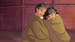 DP-DPRA-Lost-And-Found-Pocahontas-And-Nakoma-Wrapped-In-Blankets