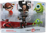 Disney Infinity pack elastigirl barbossa mike