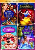 Disney Princess Classics Box Set UK DVD