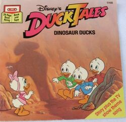 DuckTales Dinosaur Ducks Disney Read-Along