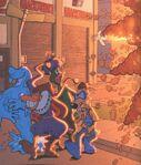 Fearsome-four-explosion-quackerjack-liquidator,bushroot,megavolt-boom-comics