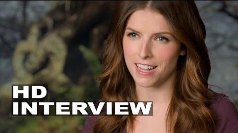 "Into the Woods Anna Kendrick ""Cinderella"" Behind the Scenes Movie Interview"