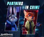 Judy and Nick - Zootropolis