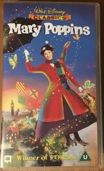 Mary Poppins 1997 UK VHS