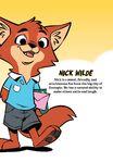 Nick Wilde comic profile