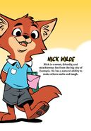 Nick Wilde comic profile