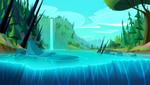 Rapunzel's Tangled Adventure background concept 2
