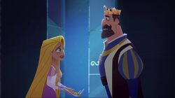 Rapunzel and Frederic's argument