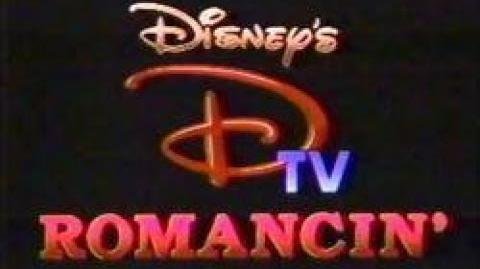 Disney's DTV Romancin' (VHS HiFi Monaural - NTSC Cable) (Complete With Vintage Commercials)