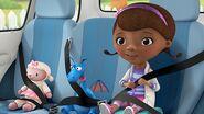 Doc McStuffins seat belts