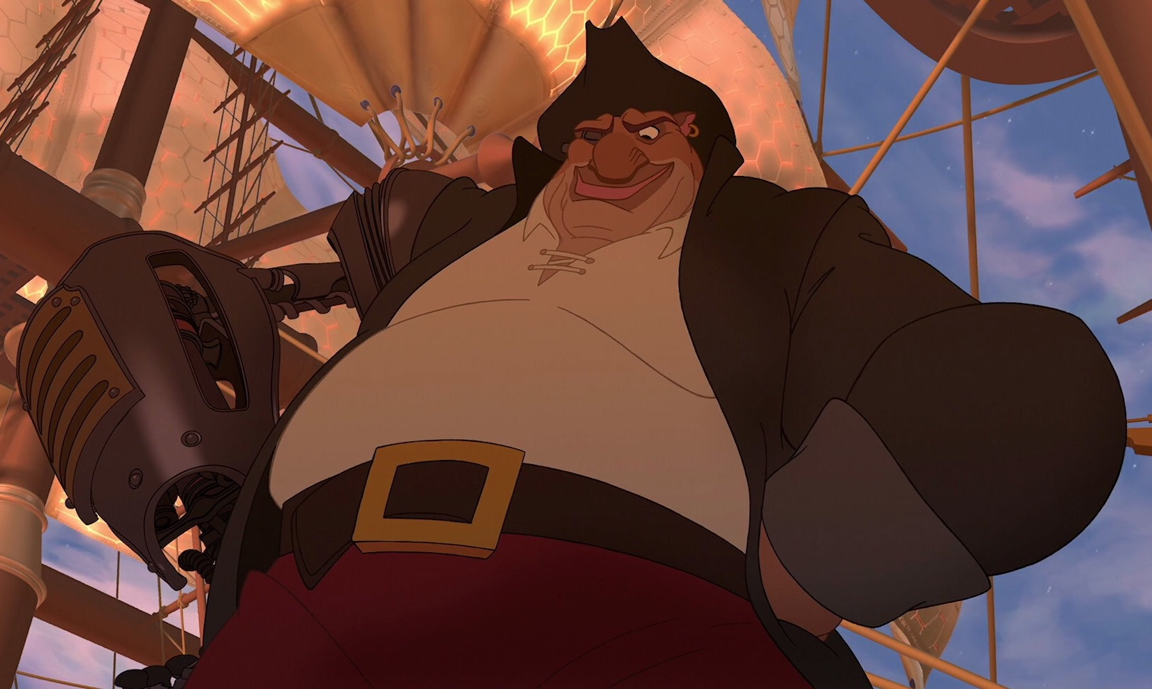 Image result for treasure planet silver