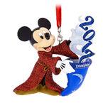 Sorcerer Mickey Mouse Figural Ornament - Disneyland 2017